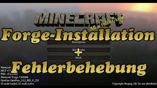 Minecraft Forge 1.5.2 Tutorial & Fehlerbehebung [Deutsch/HD]