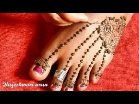 Beautiful Feet Henna Mehndi Designs 2018 Simple Latest Mehndi