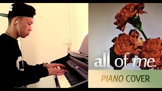 John Legend - All Of Me (piano cover by Ducci, lyrics + MP3) Mp3