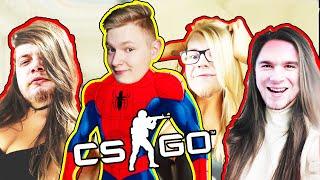 SPIDER-MAN I 3 LASECZKI | CSGO: HIDE AND SEEK