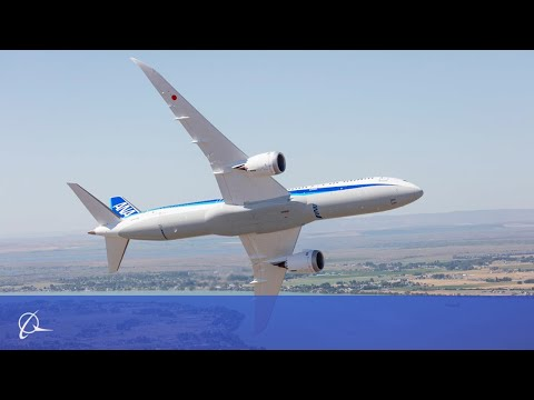 The Beauty of Boeings 787-9 Dreamliner on Display