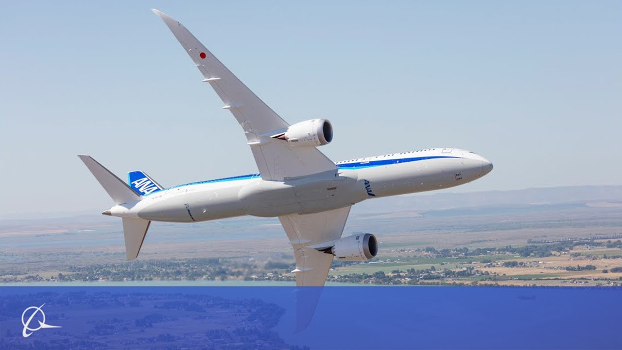 Amazing! The Beauty of Boeings 787-9 Dreamliner on Display