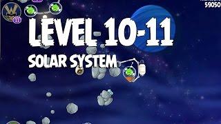 Angry Birds Space Solar System 10-11 Walkthrough 3 Star