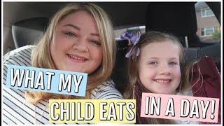 WHAT MY CHILD EATS IN A DAY || KIDS MEAL IDEAS || My Happy Ever After