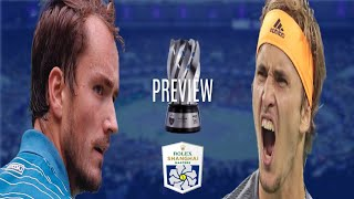 Daniil Medvedev vs Alexander Zverev Shanghai 2019 Final | PREVIEW