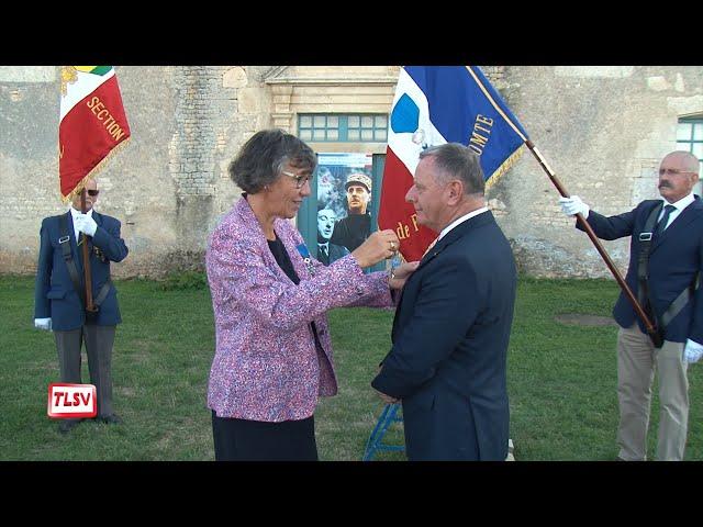Luçon : Dominique Bonnin décoré de l'ordre national du Mérite