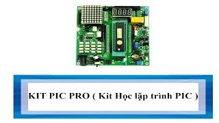 KIT PIC PRO ( Kit Học lập trình PIC )
