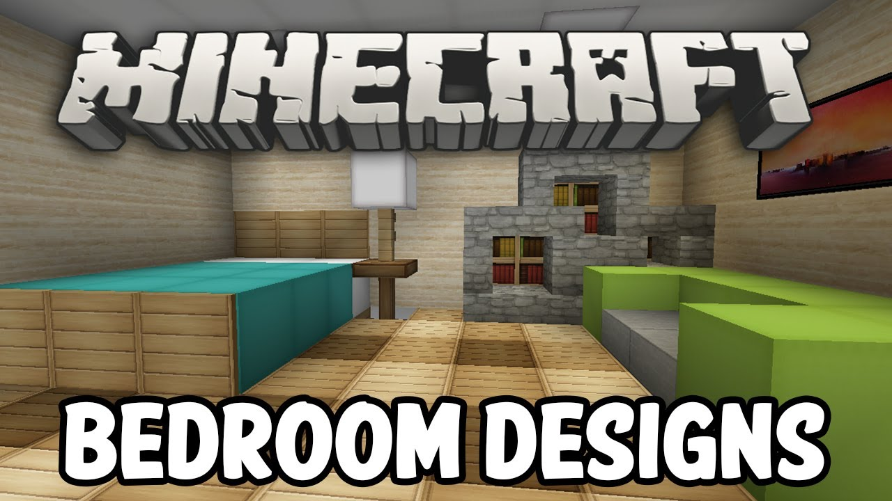 Minecraft Interior Design - Bedroom Edition - YouTube