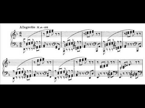 Franz Liszt - Etude S. 136 No. 4 (audio + sheet music)