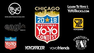 Saturday - Livestream Video Archive - US Nats 2018 - Presented by Yoyo Contest Central