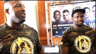 'WHEN I FIGHT TYSON FURY - MY BROTHER DEAN WILL FIGHT SHANE FURY ON THE UNDERCARD' - DILLIAN WHYTE