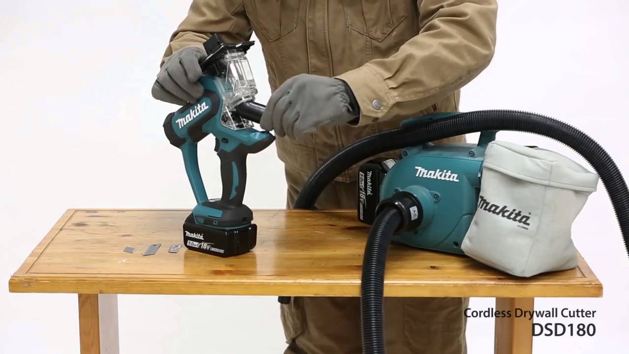 Makita Cordless Drywall Cutter Dsd180