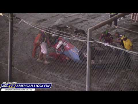 Roll Over: American Stock at Bakersfield Speedway