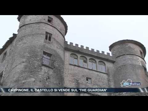 Carpinone, il castello si vende sul 'The Guardian'