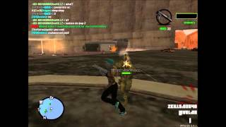 Virus-x Zombies MTA San Andreas #5 Players vs Players #1