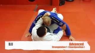 BJJ- Advanced- Strangulation1 Guard- Lapel