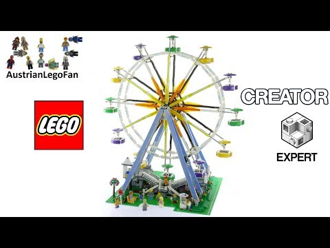 Lego Creator 10247 Ferris Wheel - Lego Speed Build Review