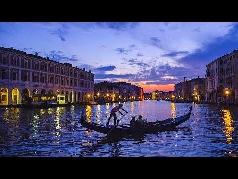 Boat builder in Venice, Italy.