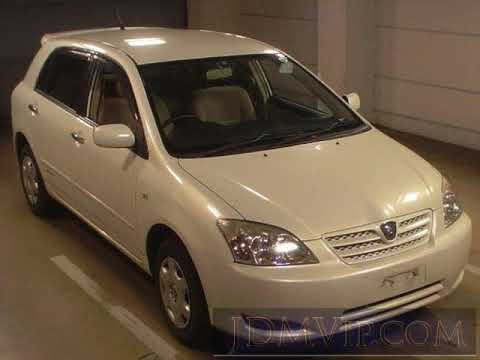 2003 TOYOTA ALLEX 4WD_XS150_G NZE124