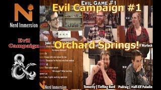 Baixar D&D 5e | Evil Campaign #1 | Nerd Immersion