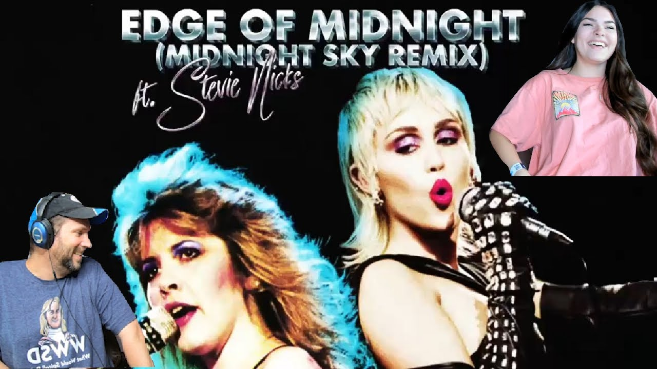 Killer 1980's Song with new flare!  || Stevie Nicks & Miley Cyrus || Edge of Midnight