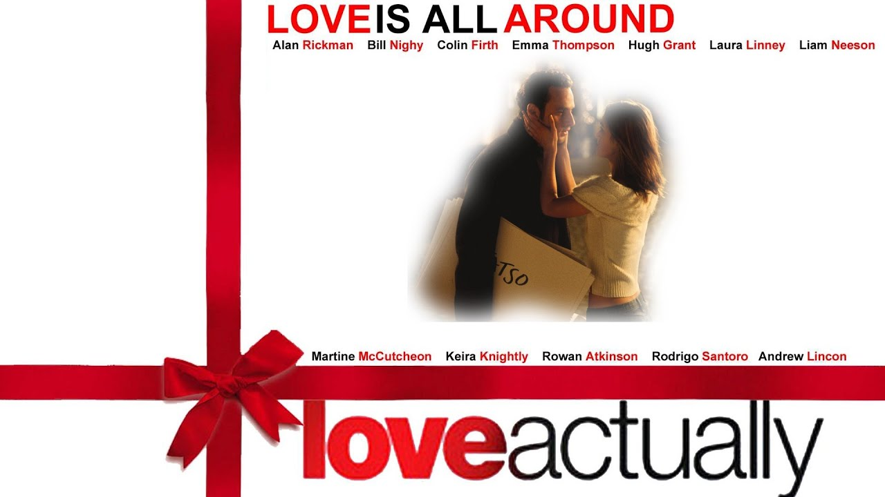 Love Actually Merry Christmas Cards Scene Hd Youtube