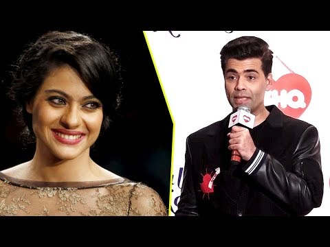Karan Johar BEST REPLY TO Kajol To End FIGHT