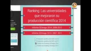 San Marcos en ranking de universidades que mejoraron producción científica 2014