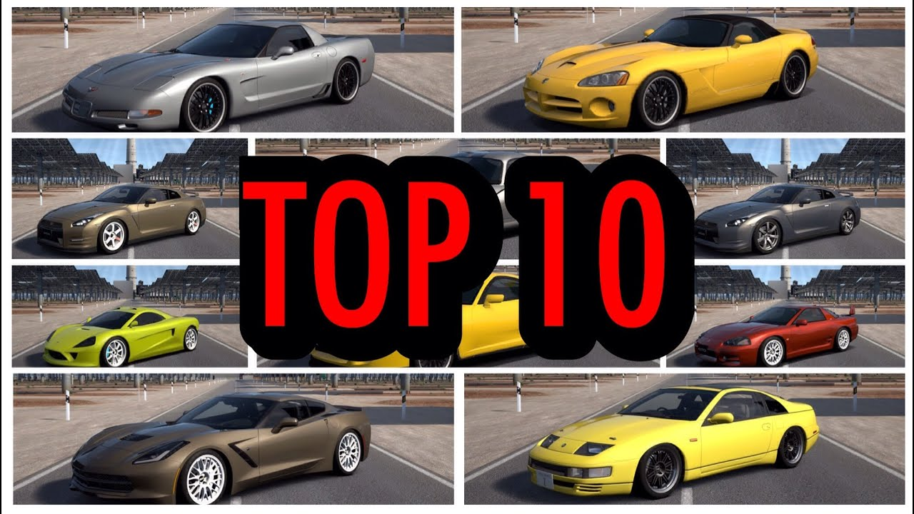 Top 10 Fastest Affordable Cars On Gran Turismo 6 [HSG Countdown ...