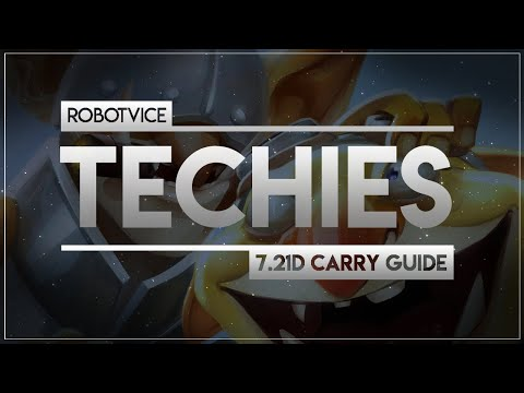 RobotVice's 7.21d CARRY TECHIES GUIDE