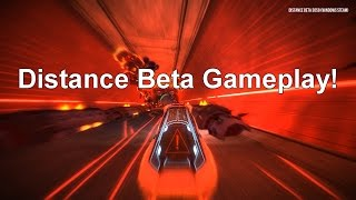Distance Beta Gameplay - NITRONIC RUSH SEQUEL