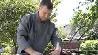 Белорусская кухня. Карп фаршированный гречкой