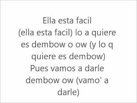 Chandi Feat Nejo & Dalmata - Ella Pide Dembow (Official Remix).avi