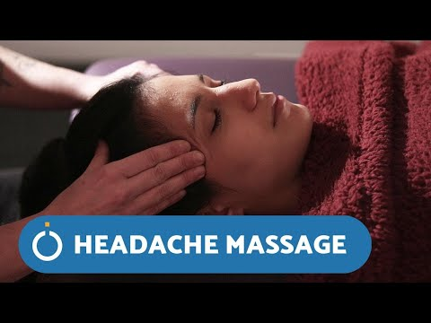 How to RELIEVE a HEADACHE with Massage