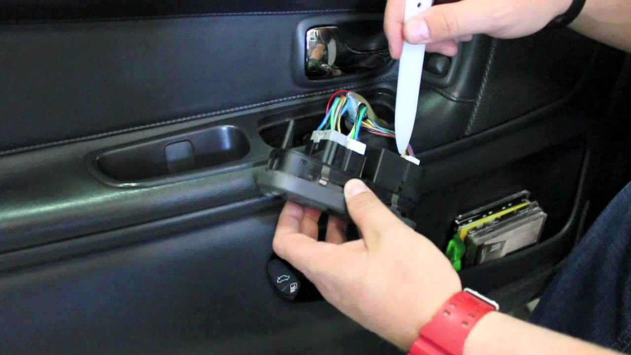 ipd Volvo Master Window Switch 1998-2000 S/V70 models. - YouTube
