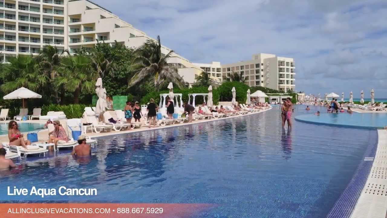 Inside The Live Aqua Cancun In Cancun Mexico Youtube