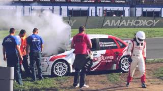 Видео отчёт о 6 этапе RRC - 2012. Самые зрелищные моменты!