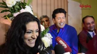 بالفيديو.. هاني رمزى يهنئ مايا نصرى بمناسبة بدء تصوير فيلمهما الجديد