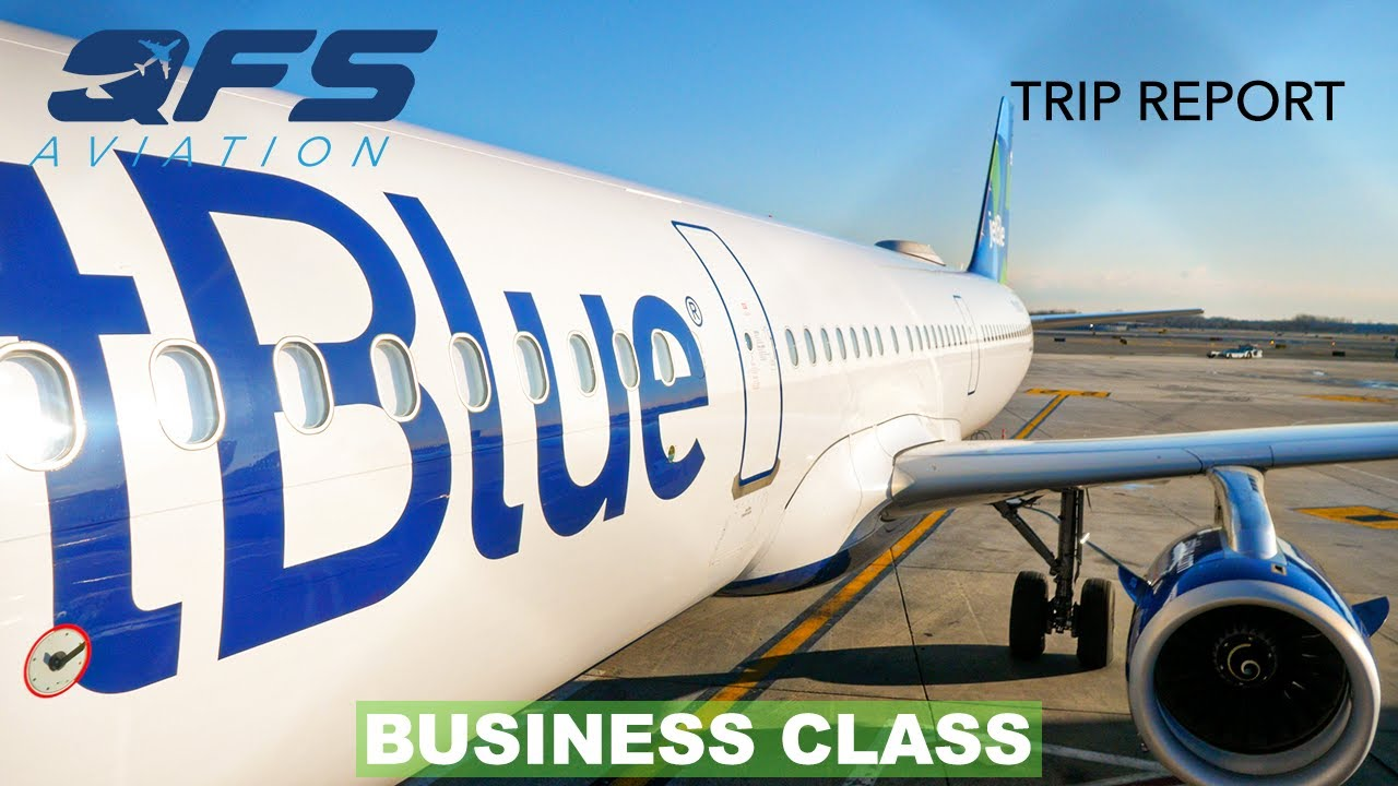 TRIP REPORT | JetBlue Airways - A321 - New York (JFK) to Seattle (SEA) | Business Class