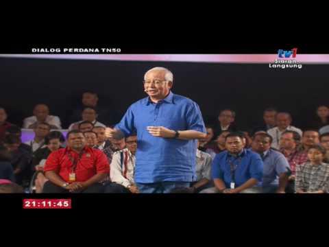 Najib Razak: Sesi Dialog Perdana TN50 (Bhg. 1)