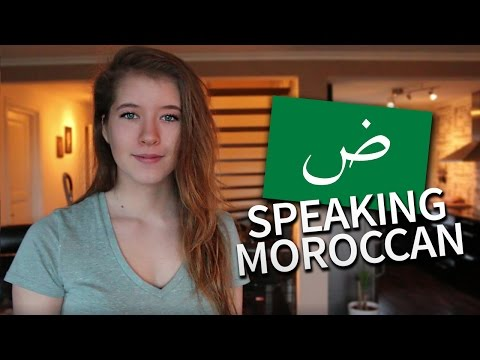 SPEAKING MOROCCAN