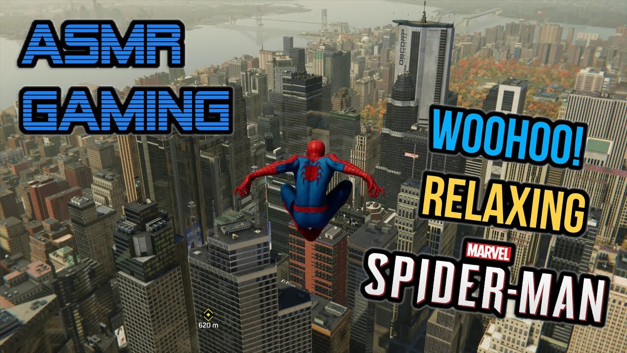 ASMR Gaming | Relaxing Spider-Man Woohoo on PS4 Pro