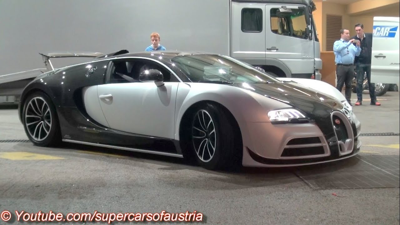 mansory vivere bugatti veyron first time driving on the. Black Bedroom Furniture Sets. Home Design Ideas