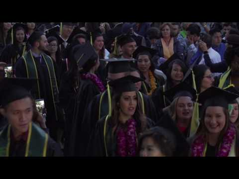 Collins College of Hospitality Management Commencement 2017