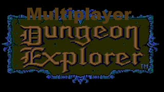 Classic TurboGrafx-16 Game Dungeon Explorer Multiplayer Co-Op on PS3 in HD 720p