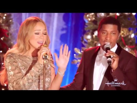Mariah Carey l Christmas Time Is In The Air Again  at Hallmark Channel Special