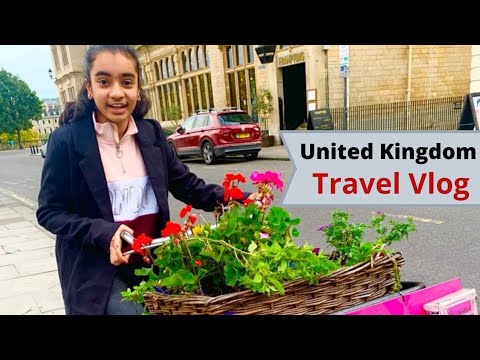 United Kingdom vlog || Travel Vlog Part - 1 || Forever Young With Syna