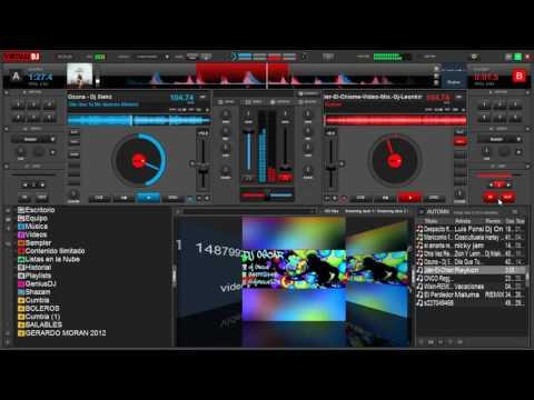 MEGA MIX REGGAETON 2017 FULL MIX VIRTUAL DJ 8 (HD)