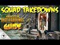 PUBG SQUAD TAKEDOWNS - Battlegrounds How To Kill SQUADS