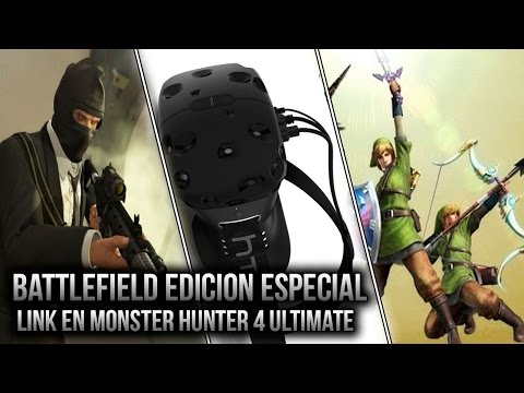 GTA V para PC | Oculus Rift vs HTC Re Vive | Link en Monster Hunter 4 Ultimate